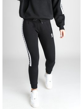 Gk Slouch Tracksuit Bottoms   Black by The Gym King