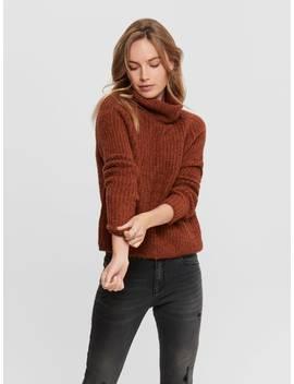 Ull Strikket Pullover by Only