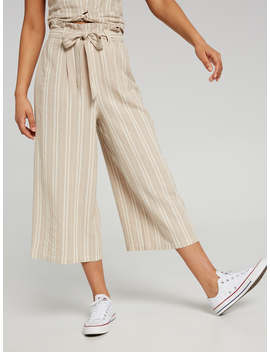 Paper Bag Linen Pant Stripe by Jay Jays