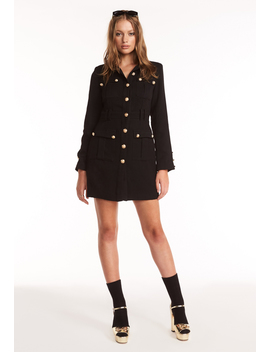 The Buckingham Coat – Black by Lioness Fashion