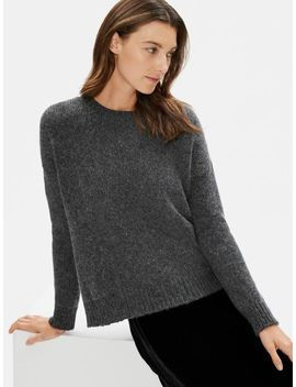 Airspun Wool Mohair Top by Eileen Fisher