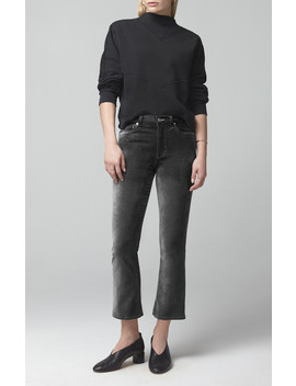 Demy Cropped Flare In Slate by Citizens Of Humanity