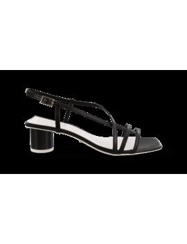 Perri Black Kid Heels by Tony Bianco