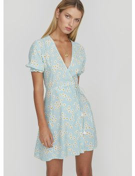Zhoe Floral Print   Mira Wrap Dress by Faithfull The Brand