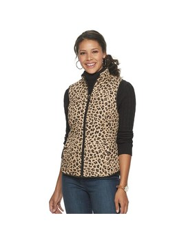 womens-croft-&-barrow-woven-quilted-vest by croft-&-barrow