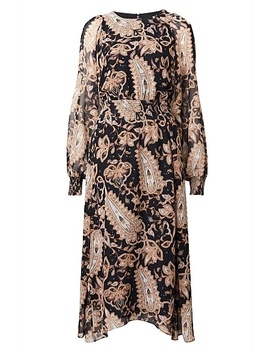 Paisley Print Dress by Witchery