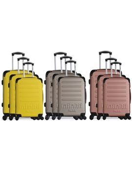 Infinitif Three Piece Horten Luggage Set by Groupon