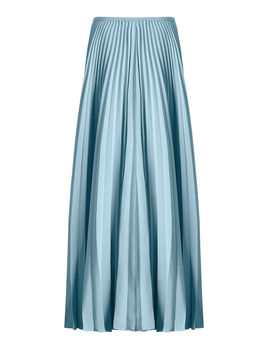Abbot Pleated Toile Skirt by Joseph