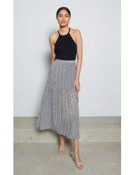 Nadine Midi Skirt by Bec And Bridge