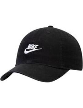 Nike Youth Heritage 86 Futura Adjustable Hat   Black by Nike
