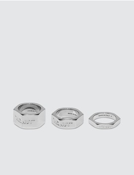 bolt-ring by  ------------off-white --------