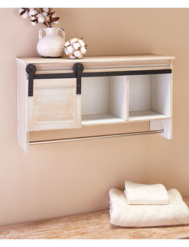 Barn Door Laundry Cabinets Or Baskets by Lakeside Collection