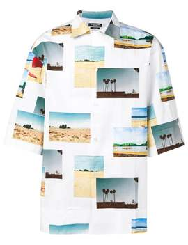 Calvin Klein 205 W39 Nyc          Beach Button Down by Calvin Klein 205 W39 Nyc