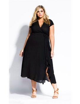 Be Free Dress   Black by City Chic