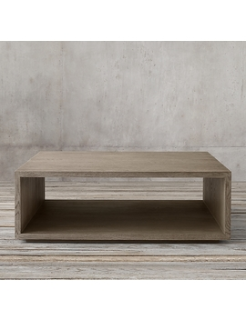 Cloud Modular Open Square Coffee Table by Restoration Hardware