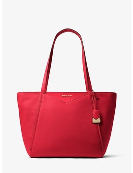Whitney Large Leather Tote Bag by Michael Michael Kors