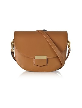 Clio Smooth Leather Flap Shoulder Bag by Gisèle 39
