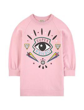 Eye Fleece Dress   Super Kenzo by Kenzo Kids