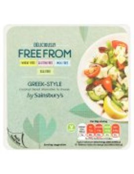 Sainsbury's Deliciously Free From Greek Style Coconut Based Alternative To Cheese 200g by Sainsbury's