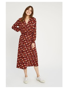V&A Daisy Print Midi Dress by People Tree