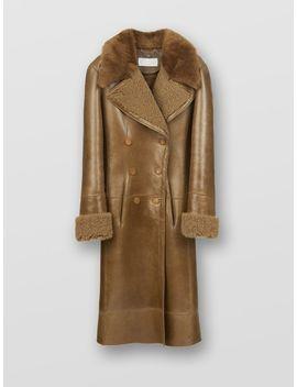 Reversed Shearling Coat by Chloe
