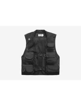 Multi Pocket Vest by Lieshezhe