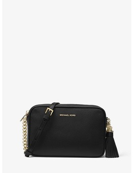 Ginny Leather Crossbody Bag by Michael Michael Kors