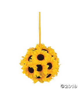 Pomander Sunflower Kissing Ball by Oriental Trading