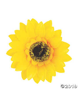 Sunflower Embellishments by Oriental Trading
