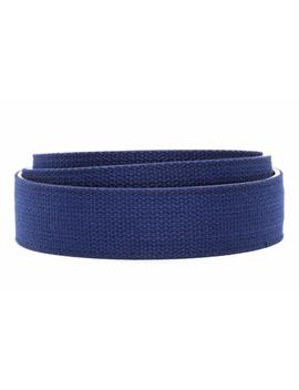 "1.5"" Navy Canvas Strap by Anson Belt & Buckle"