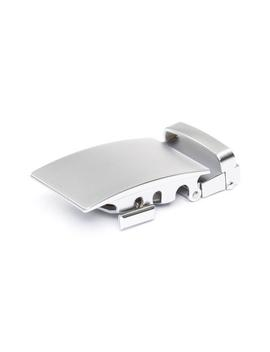 "1.5"" Classic Buckle In Silver by Anson Belt & Buckle"