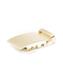 "1.5"" Classic Buckle In Matte Gold by Anson Belt & Buckle"
