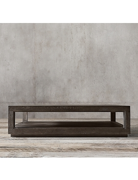 Grand Framed Square Coffee Table by Restoration Hardware