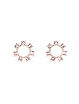 Ted Baker Ciela Crystal Clockwork Earrings by Goldsmiths