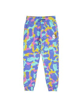 Nerm Teddy Camo Sweat Pants (Multi) by Ripndip