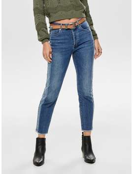 Onlemily Hw Ankle Straight Fit Jeans by Only