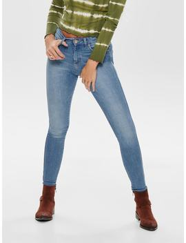Onlhush Mid Skinny Fit Jeans by Only