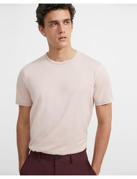 Luxe Cotton Tee by Theory