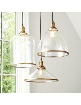 Franklin Glass Pendant by Ballard Designs