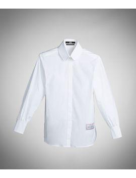 The Essential White Shirt by Karl Legerfeld