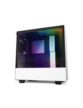 Nzxt H510i   Compact Atx Mid  Tower Pc Gaming Case   Front I/O Usb Type C Port   Vertical Gpu Mount   Tempered Glass Side Panel   Integrated Rgb Lighting   Water Cooling Ready   White/Black by Nzxt