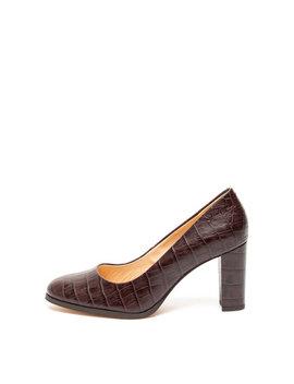 Pantofi De Piele, Cu Model Piele De Crocodil Kaylin Cara by Clarks