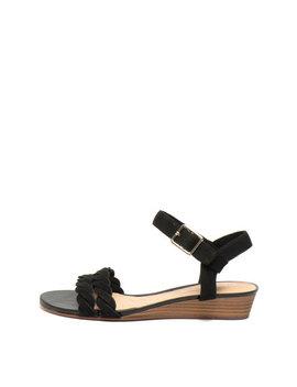 Sandale Wedge, De Piele Nabuc Mena by Clarks