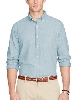 Chambray Shirt by Polo Ralph Lauren Men