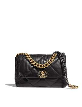 Chanel 19 Large Flap Bag by Chanel