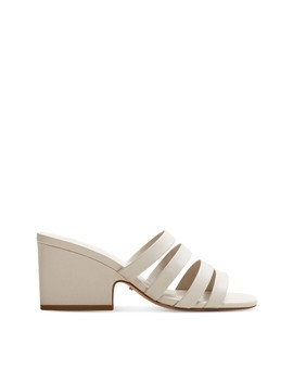 Leather Straps Sandals by Violeta By Mango