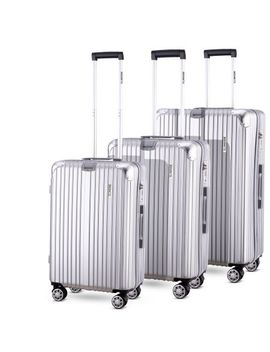 3pc Luggage Suitcase Trolley Set Tsa Travel Carry On Bag Hard Case Lightweight I by Crazy Sales