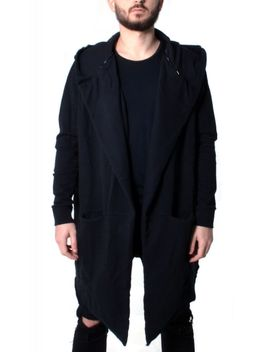The Chicago Cardigan In Black by Tag Twenty Two