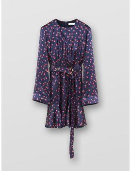 Printed Mini Dress by Chloe