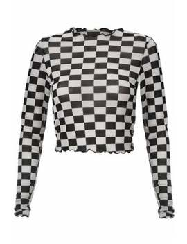 Make Your Move Mesh Top by Jawbreaker Clothing